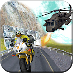 Gunship Thief Attack:Bike Race Icon