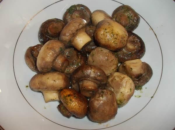 Crock-pot Ranch Mushrooms Recipe