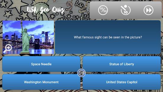 USA Geo Quiz - náhled