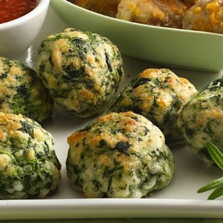 Spinach-Cheese Balls.