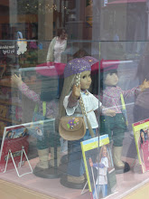 Photo: scary dolls in windows