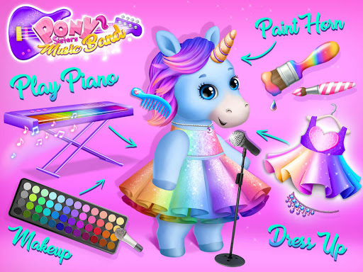 Pony Sisters Pop Music Band - Play, Sing & Design screenshots 12