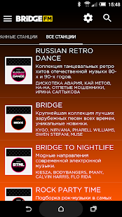 BRIDGE FM – онлайн радио- screenshot thumbnail