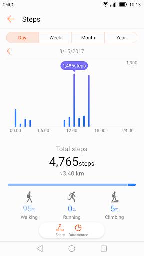 Huawei Health screenshot 2