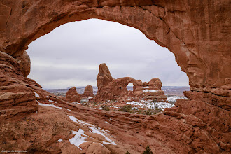 Photo: Classic: Classic view of Turret Arch through North Window. Bigger and Prints: http://lagemaatphoto.smugmug.com/Landscapes/National-Parks/Arches-National-Park/3876776_phTb5j#!i=2385925811&k=JHVDTWr&lb=1&s=A
