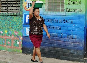Photo: Straßenszene in Apaneca