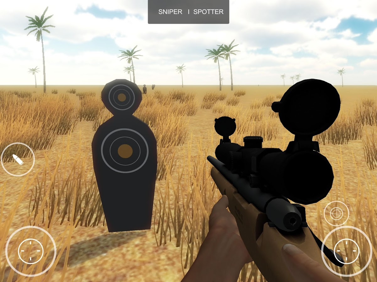 Sniper Spirit 3D - Simulator- screenshot