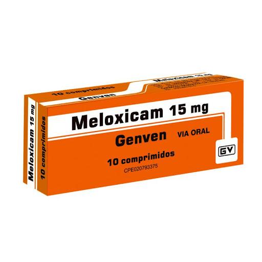 Meloxicam 15Mg 10 Comprimidos Genven
