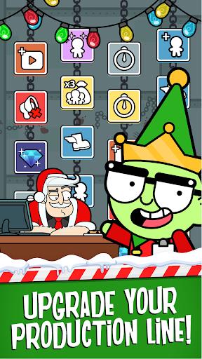 Code Triche Santa's Capitalist Factory - Idle Xmas Tycoon  APK MOD (Astuce) screenshots 5