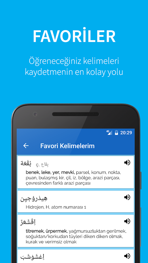 Arabic Turkish Dictionary- screenshot
