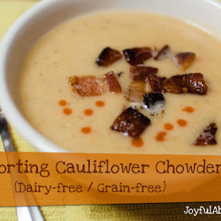 Comforting Cauliflower Soup (Dairy-free / Grain-free)