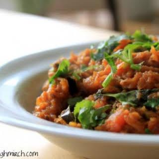 Kadoo Ki Saabzi (spiced Pumpkin Curry).
