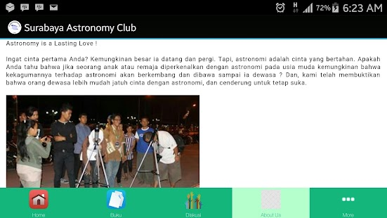 Surabaya Astronomy Club- screenshot thumbnail