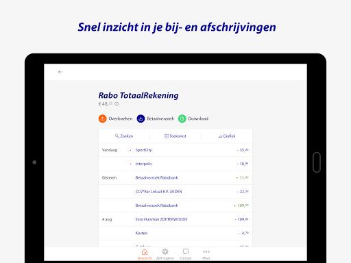 Rabo Bankieren screenshot 11