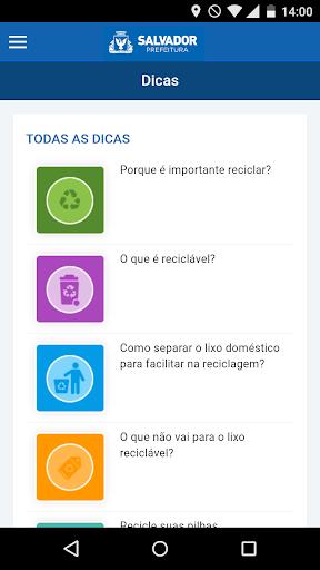 Coleta Seletiva Salvador screenshot 3