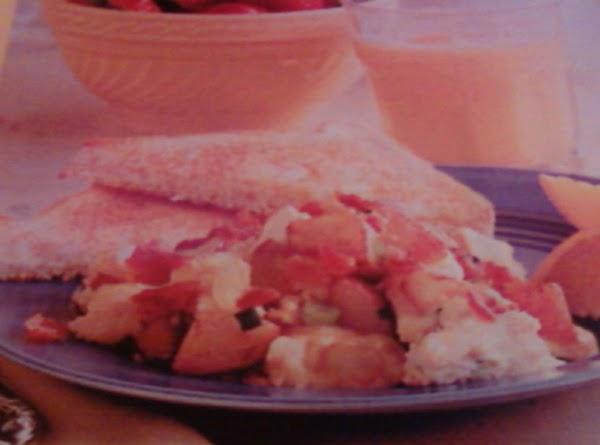 Patata Y Tocino Lucha De Huevo Aka...potato, Bacon And Egg Scramble Recipe