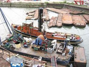 Photo: Tot januari 2007 lag de Hercules bij de werf van Wilton in Schiedam (ingestuurd door V. Biemans)