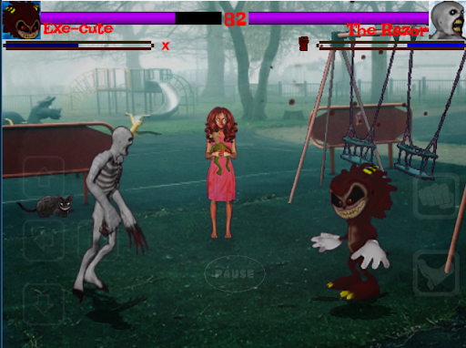 Slender VS Jeff k : Creepypasta Fighters  screenshots 1
