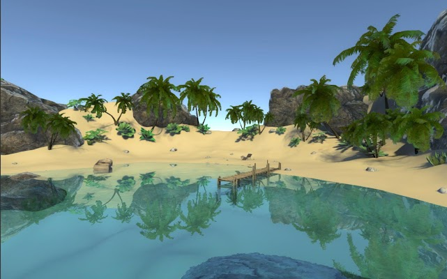 VR Beach - screenshot
