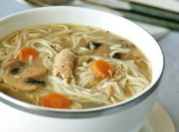 Kelly's TLC Chicken Noodle Soup