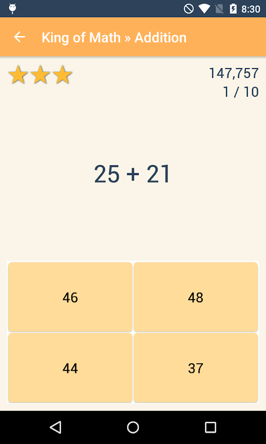 King of Math Pro- screenshot