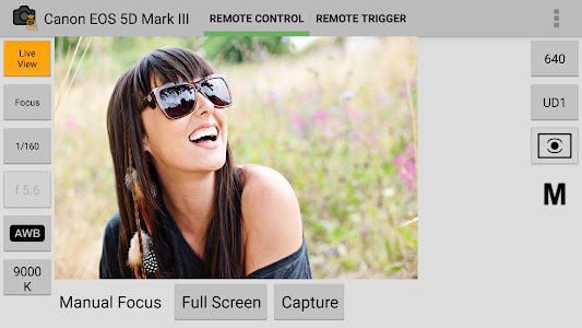 DSLR Remote Control - Camera screenshot 1