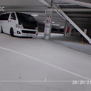 ハイエース KDH201Vのカスタム事例画像 AsakeNさんの2021年10月28日09:09の投稿