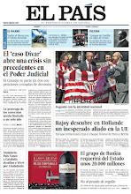Photo: En la portada de EL PAÍS del viernes 25 de mayo: El 'caso Dívar' abre una crisis sin precedentes en el Poder Judicial; Rajoy descubre en Hollande un inesperado aliado en la UE; Bankia requerirá unos 20.000 millones del Estado; y en Vida&Artes: Jugando con la identidad nacional. La Copa del Rey agita los nacionalismos. http://srv00.epimg.net/pdf/elpais/1aPagina/2012/05/ep-20120525.pdf