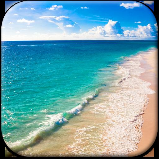 海滩 动态壁纸 個人化 App LOGO-APP試玩