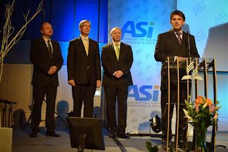 Photo: Poselství předsedy Unie CASD -  M. Pavlík, O. Popovič, K. Staněk, P. Zvolánek