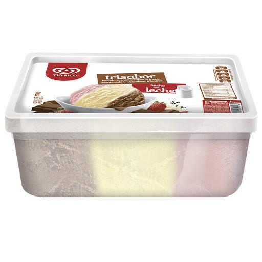 helado tio rico trisabor 2lt