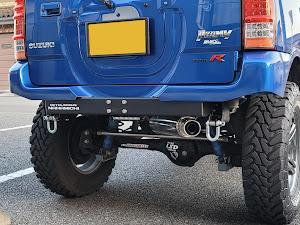 ジムニー JB23W X-Adventure XC(クロスアドベンチャーXC JB23-8型)パールメタリックカシミールブルー初年度登録 2012年(平成24年)4月のカスタム事例画像 Compact Blue さんの2021年04月18日18:06の投稿