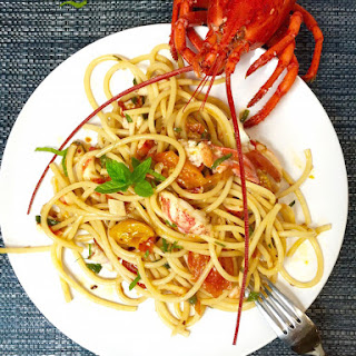Angry Lobster Pasta.