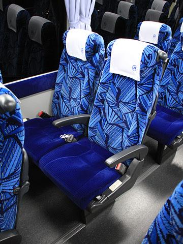 中国JRバス「広福ライナー」 2486 シート
