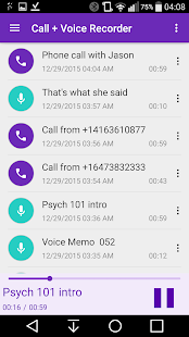 CVR Call Recorder- screenshot thumbnail