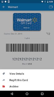 Gyft - Mobile Gift Card Wallet- screenshot thumbnail