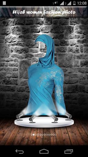 Hijab women fashion photo