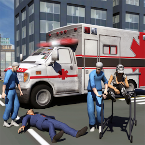 Ambulance Driver 3d Parking for PC and MAC