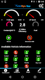 VehiSys Vehicle Data Analytics- screenshot thumbnail