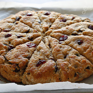 Lemon Cranberry Scones.