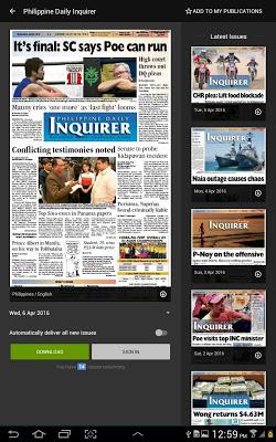 InquirerPlus - screenshot