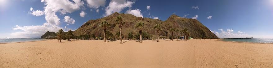 Photo: Spain, Canaries, Tenerife, Palm Beach San Andres