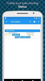 Indian Railway Train Status / Train Running Status - náhled