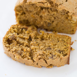 Browned Butter Sweet Potato Bread with Walnuts.