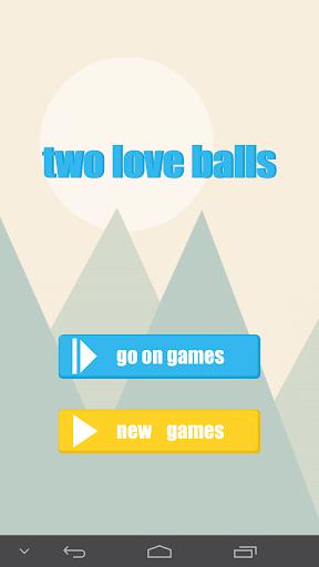 two love balls