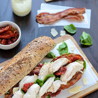 Chicken Caesar Sandwich with Bacon Recipe