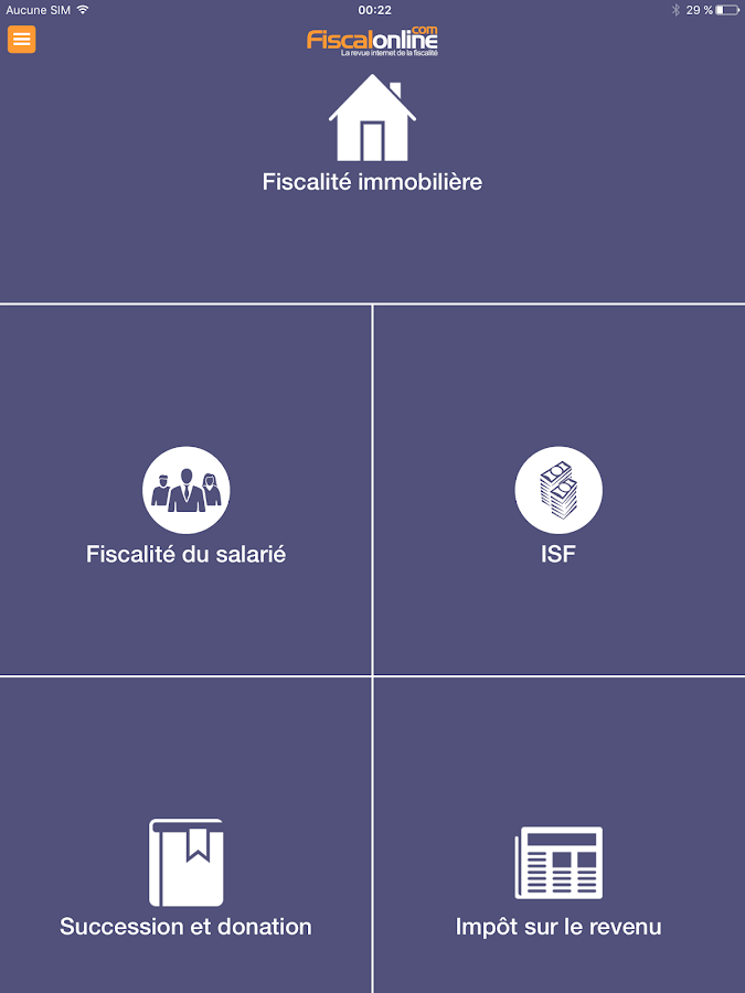 Fiscalonline- screenshot