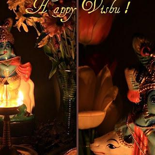 Chakkayada (Jackfruit preseve Dumplings made on banana leaves) and Happy Vishu !.