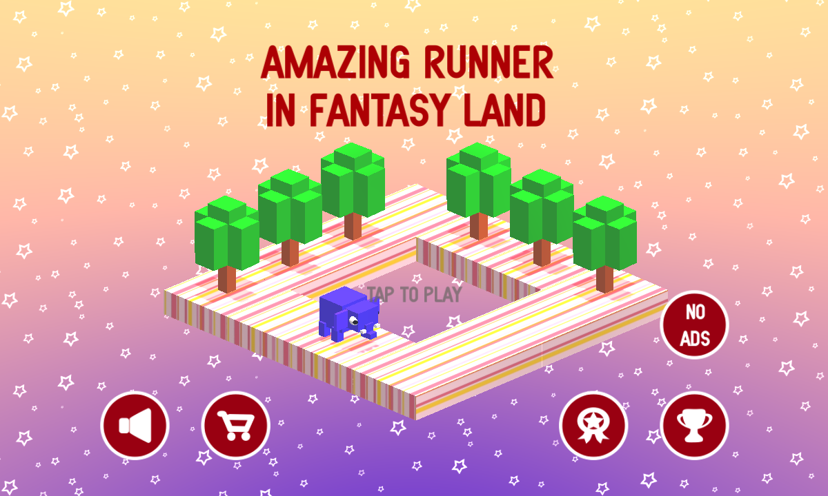 Amazing Runner in Fantasy Land- screenshot