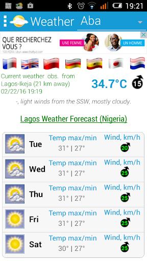 玩免費天氣APP|下載Nigeria Weather app不用錢|硬是要APP